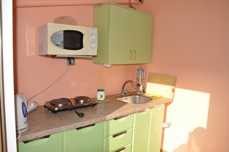 Кухня в отеле Орхидея, отдых в Феодосии